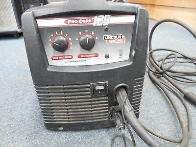 Lincoln Electric Pro Core 125 Wire Feed Mig Welder