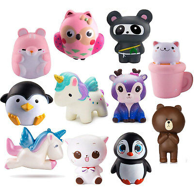 Animal Jumbo Slow Rising Squishies Squishy Squeeze Toys Stress Reliever Gifts