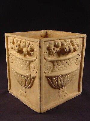 VERY RARE EARLY 1800s FLOWER POT CANE CANEWARE YELLOW WARE
