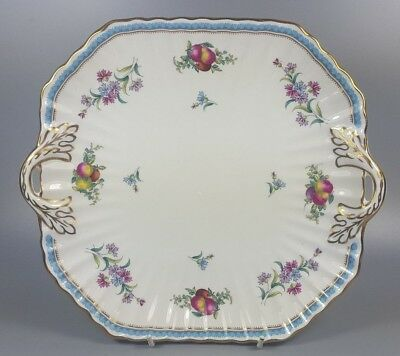 Spode Trapnell Sprays Cake / Bread And Butter Plate