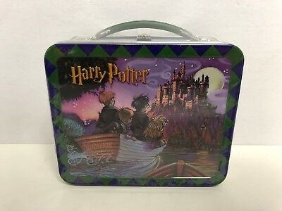 HARRY POTTER and the Sorcerer's Stone Hallmark School Days Lunch Box ~ New!