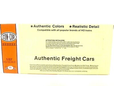 Con-Cor HO Erie Lackawanna 67830 60' Dbl Door Train Box Car MRPO Exclusive Kit