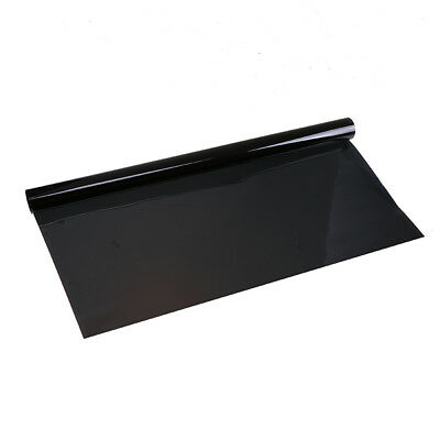 50x300cm Smoke Black Glass Window Tint Shade Film VLT 5% Auto Car House Roll New