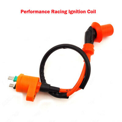 Orange Ignition Coil For Gy6 50cc 125cc 150cc Moped Scooter Goped Motorcycle