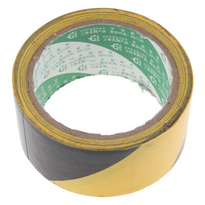 Adhesive Safety Hazard Warning Safety Stripe Tape, 48x4500mm