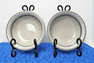 """LOT of 2 Salla by Arabia Finland Soup or Cereal Bowls 6 1/4"""" by Ulla Procope"""