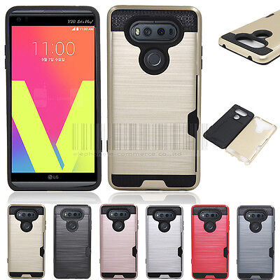 FOR LG V20 Case Hard Kickstand Protective Cover Armor