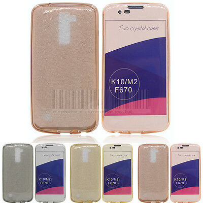 Ultra Thin Clear TPU Gel Protective Case Soft Rubber Cover Fr LG K10 Premier LTE
