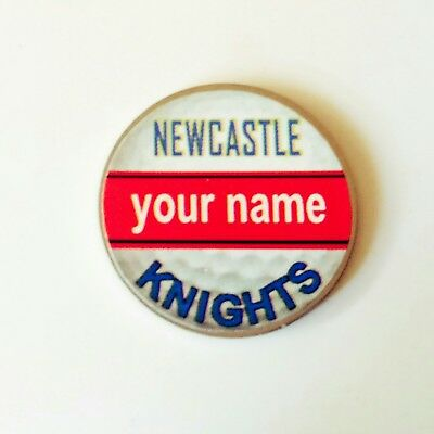 anneys - your OWN PERSONALISED  ** Knights ** golf ball marker!!