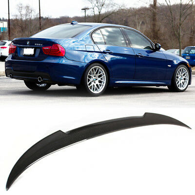 Carbon BMW E90 3 Series Saloon M4 Look Trunk Boot Spoiler 2011 M3 318i 320d