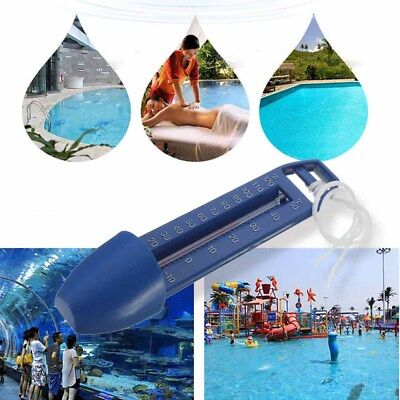 Bath Swimming Pool Spa Tub Pond Scoop Thermometer Water Temperature Test #DJ8
