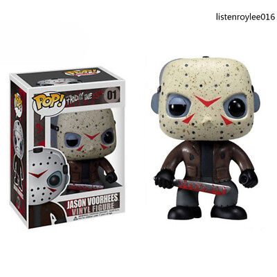 Funko POP Friday The 13th Jason Voorhees Horror Models Action Figure Toys Gifts
