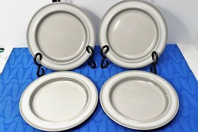 """LOT of 4 Salla by Arabia Finland Bread and Butter Plates 6 7/8"""" by Ulla Procope"""