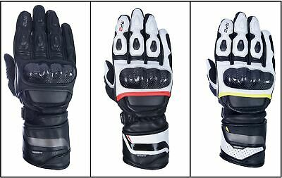 Oxford Motorcycle Bike RP-2 2.0 Gauntlet Style Sports Riding Leather Gloves