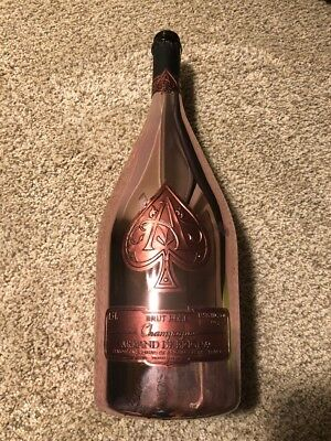 Ace of Spades Rose (Armand De Brignac) 1.5L Rose Gold Champagne Bottle *Empty*