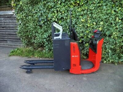 Linde N20 Order Picker/Electric Pallet Truck With Only 160 Hours!!