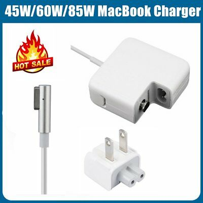 45W/60W/85W US/EU Plug L-Tip AC Power Adapter Charger for Apple Macbook Air Pro