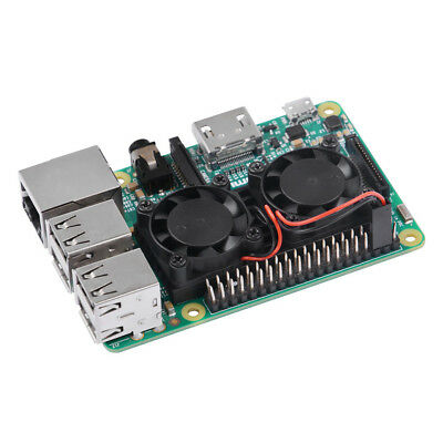 Ultimate Dual Cooling Fan Kit with Heat Sink Module for Raspberry Pi 3B 2B