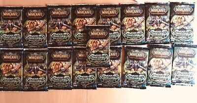 WoW TCG Scourgewar Wrathgate Booster Blazing Hippogryph Loot? 17 OVP Boosters