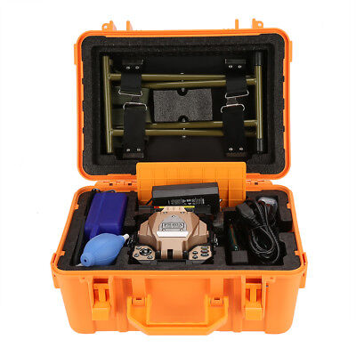 UK FS-60A Fiber Optic Welding Splicing Machine Optical Fiber Fusion Splicer Set