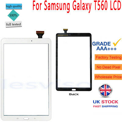 """For Samsung Galaxy Tab E 9.6"""" SM-T560 T560 Touch Screen Digitizer Glass White"""
