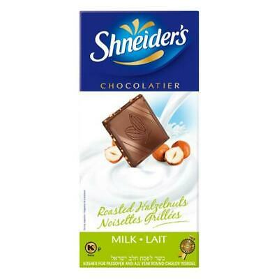 Shneiders Milk Chocolate With Roasted Hazelnuts 100G