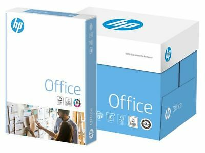 HP 'OFFICE A4 80 gsm White Copy Printer Copier Paper 2500 sheets 5 ream Box +24h
