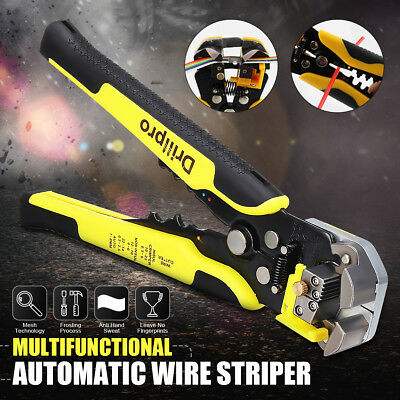 Self-Adjustable Automatic Wire Stripper Crimping Pliers Terminal Cutter Tool ABS