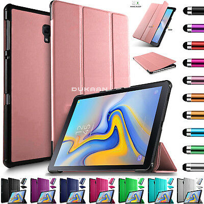 "Leather Magnetic Case Cover For Samsung Galaxy Tab A 10.5"" Inch SM-T590 SM-T595"
