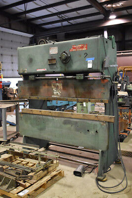 25 Ton x 6' Chicago 265 Press Brake Power Sheet Metal Bender
