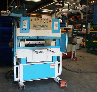 25 Ton x 4' Premier 425-2 CNC Hydraulic CNC Press Brake Hurco 7 Metal Bender