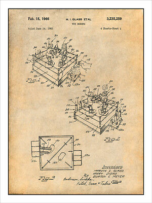 Boxing Heavy Punching Speed Bag Patent Poster Art Print Shoes Gloves MMA PAT106