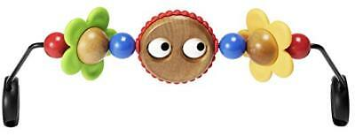 NIB Baby Bjorn Wooden Toy for Baby Bouncer (Googly Eyes) NEW