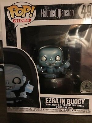Funko Disney Parks The Haunted Mansion Ezra In Buggy #49 Pop Rides