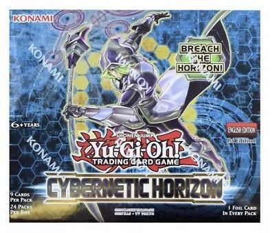 Yu-Gi-Oh Cybernetic Horizon Booster Box 1st Edition English TCG Factory Sealed