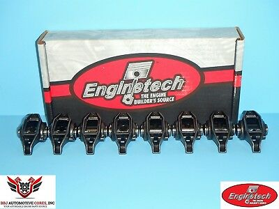 (8) Enginetech Gm Geniii Ls1 Ls2 5.7 6.0 Rocker Arms With Updated Trunion Kits