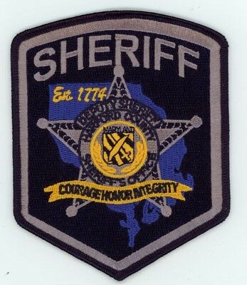 Harford County Sheriff Maryland Md Patch Police