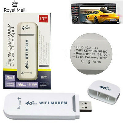for XTRONS Android Car DVD Player Radio 4G WiFi Router Wireless Modem USB Dongle
