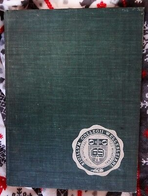 Wellesley College 1957 Yearbook, Massachusetts Women's College