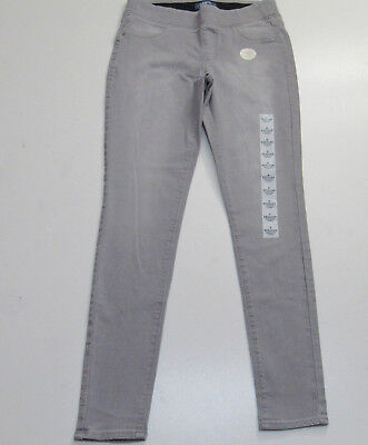 57788699261 New W/Tags Old Navy Pull on Mid Rise Rock Star Skinny Gray Jeggings Size