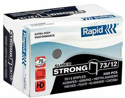 Rapid 73/12 Staples Box of 5000 70 Sheets - to Suit Rapid HD31 Stapler