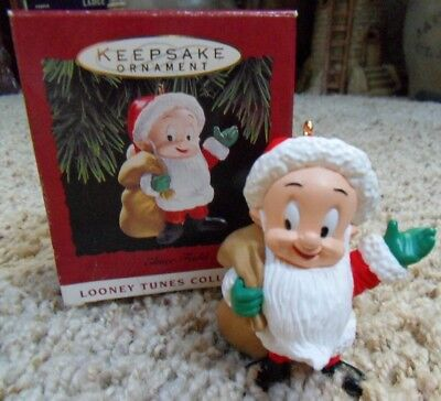 Hallmark 1993 ELMER FUDD - LOONEY TUNES Keepsake Ornament QX549-5 with Box