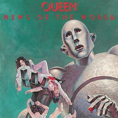 Queen - News Of The World 180 Gram Vinyl LP - We Will Rock You - Are Champions