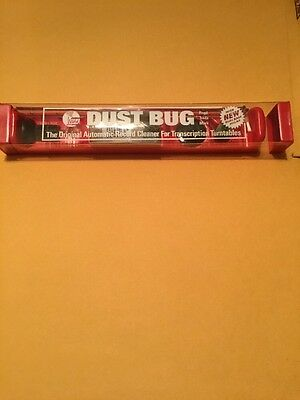 New Sealed Rare Vintage Original Watts Dust Bug Automatic Record Cleaner Kit