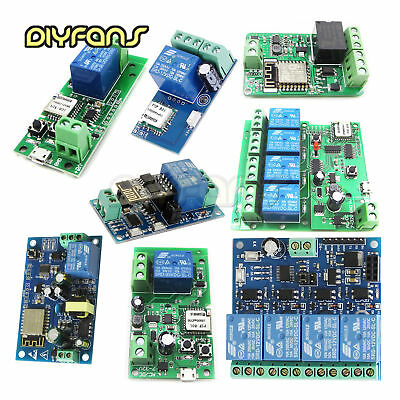 Sonoff WiFi Wireless Smart witch Home Relais Board Delay Modul APP Smart Home