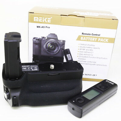 Meike MK-A9 Pro 2.4G Wireless Remote Battery Grip for Sony A9 ILCE-9 VG-C3EM