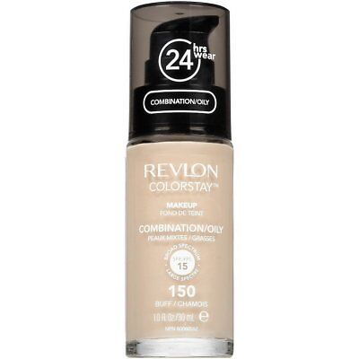 Revlon Colorstay Makeup Foundation Combination/Oily Skin 150 BUFF 15 SPF NEW