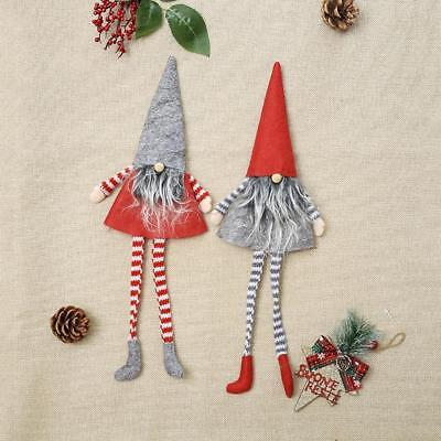 Christmas Cute Gnome Wine Bottle Bag Cover Xmas Dinner Party Table Gift Decor Pr