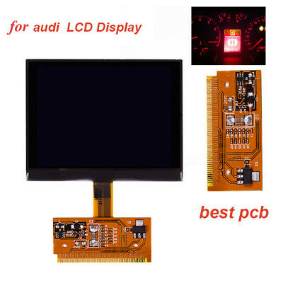 Car Replacement VDO LCD Cluster Speedometer Display Screen For Audi A3 A4 A6 B5