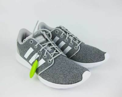 cheap for discount 0ec78 dea28 Womens ADIDAS NEO CLOUDFOAM QT RACER W Gray Sneakers Shoes AW4313 NEW Size  7.5